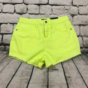 Wild Fable Women's Jean Shorts Neon Cutoffs High